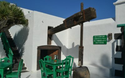 A place often missed the Monumento al Campesino in San Bartolome