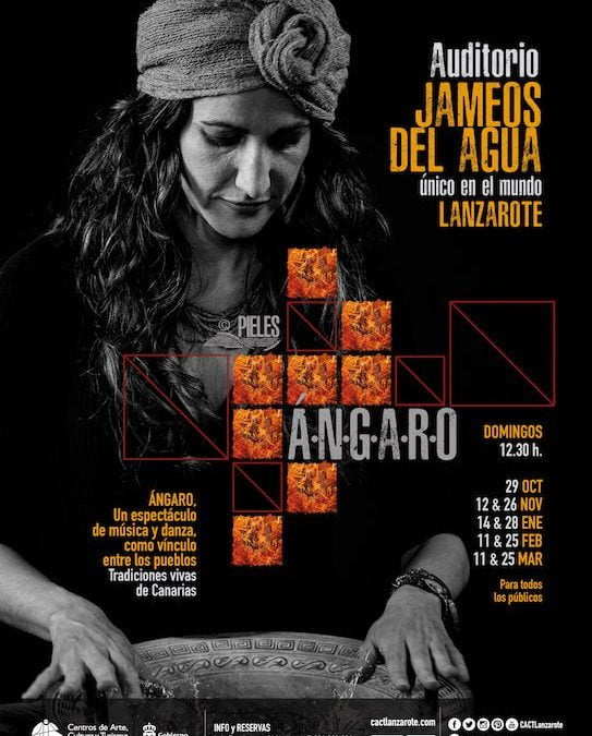 Spectacular new show coming to Jameos Del Agua at 12.30pm on the dates below