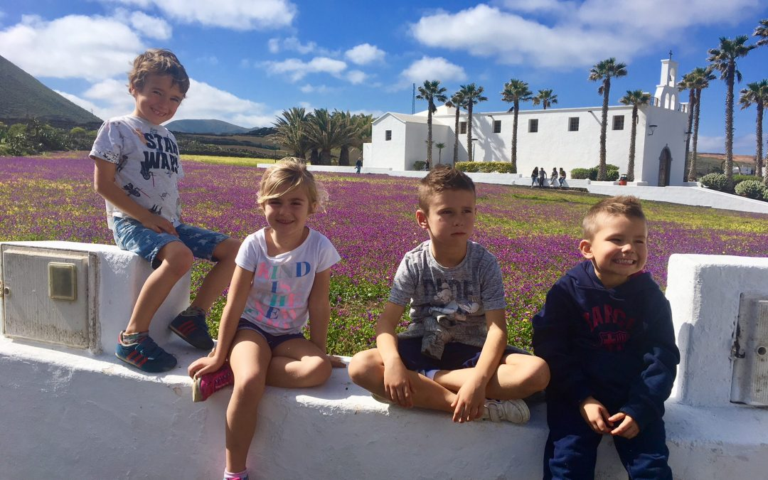 A beautiful green Lanzarote