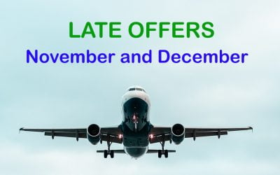 SPECIAL OFFERS FOR NOVEMBER AND DECEMBER